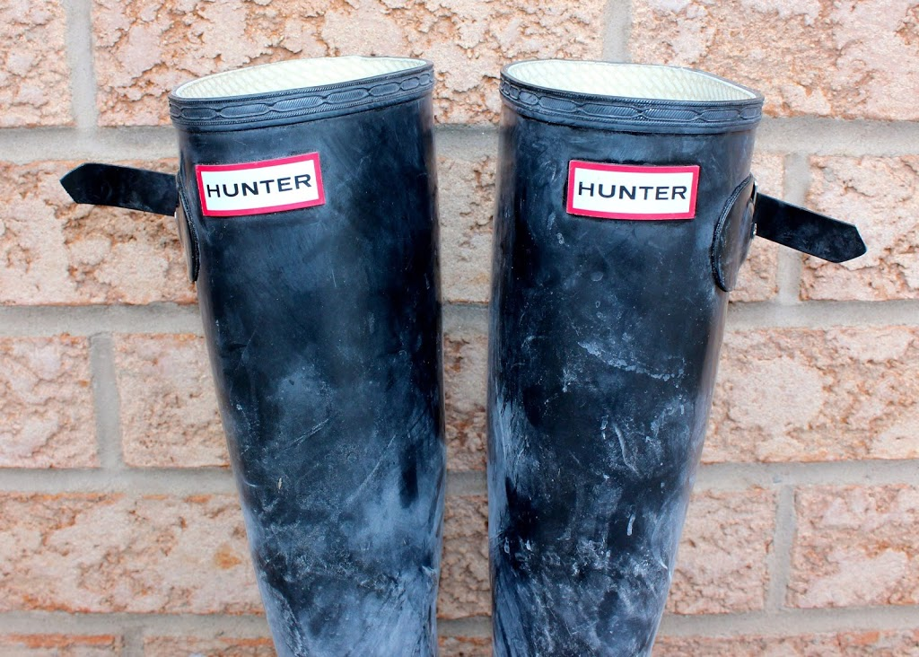 How to clean your Hunter Boots at home