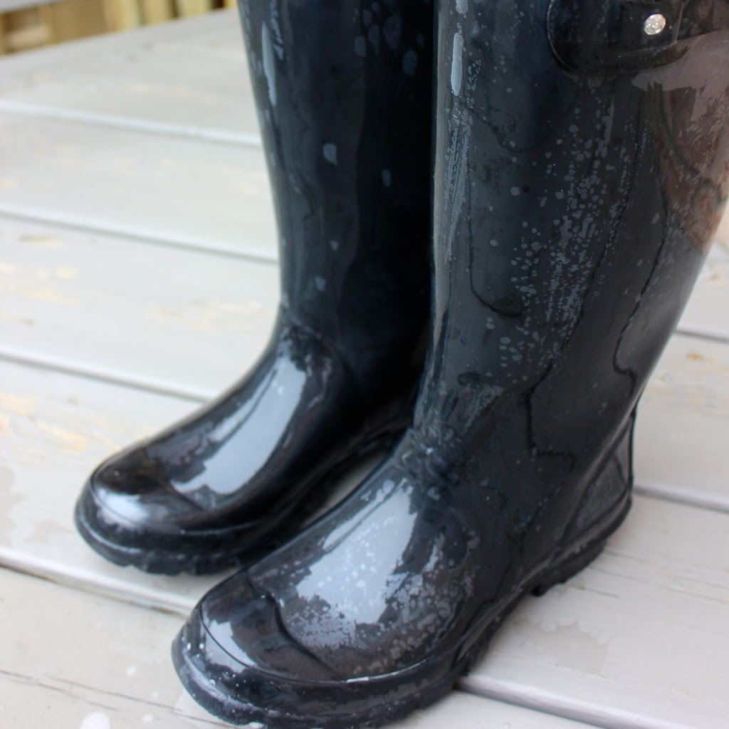 How to clean Hunter Boots at home