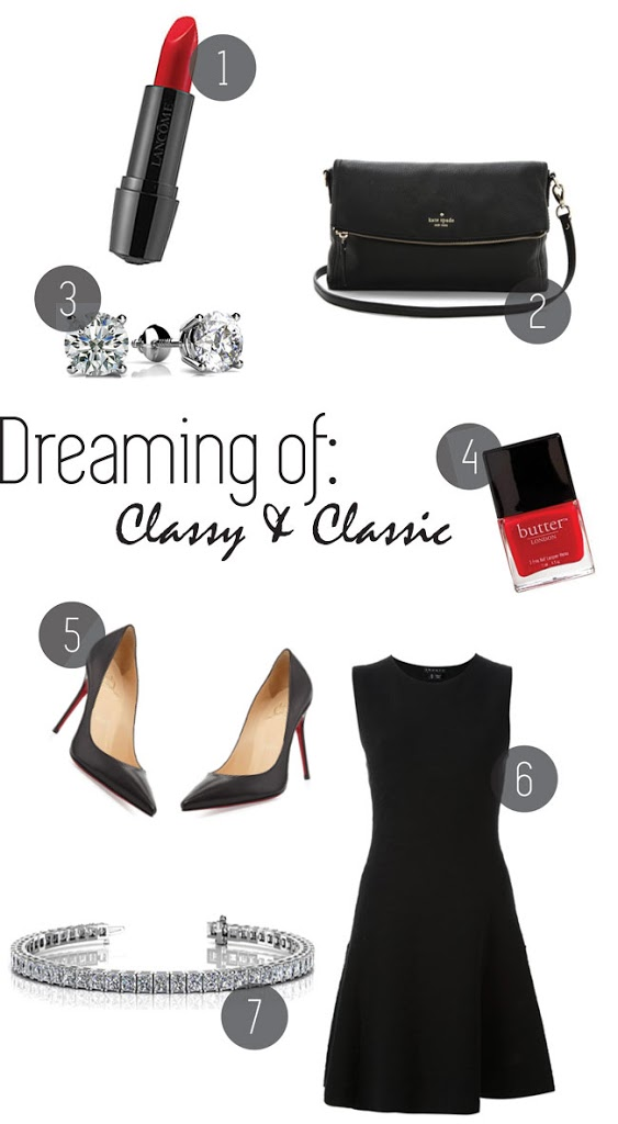 Dreaming of: Classy and Classic with Anjolee