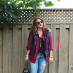 Gap Jeans and Vest – Old Meets New