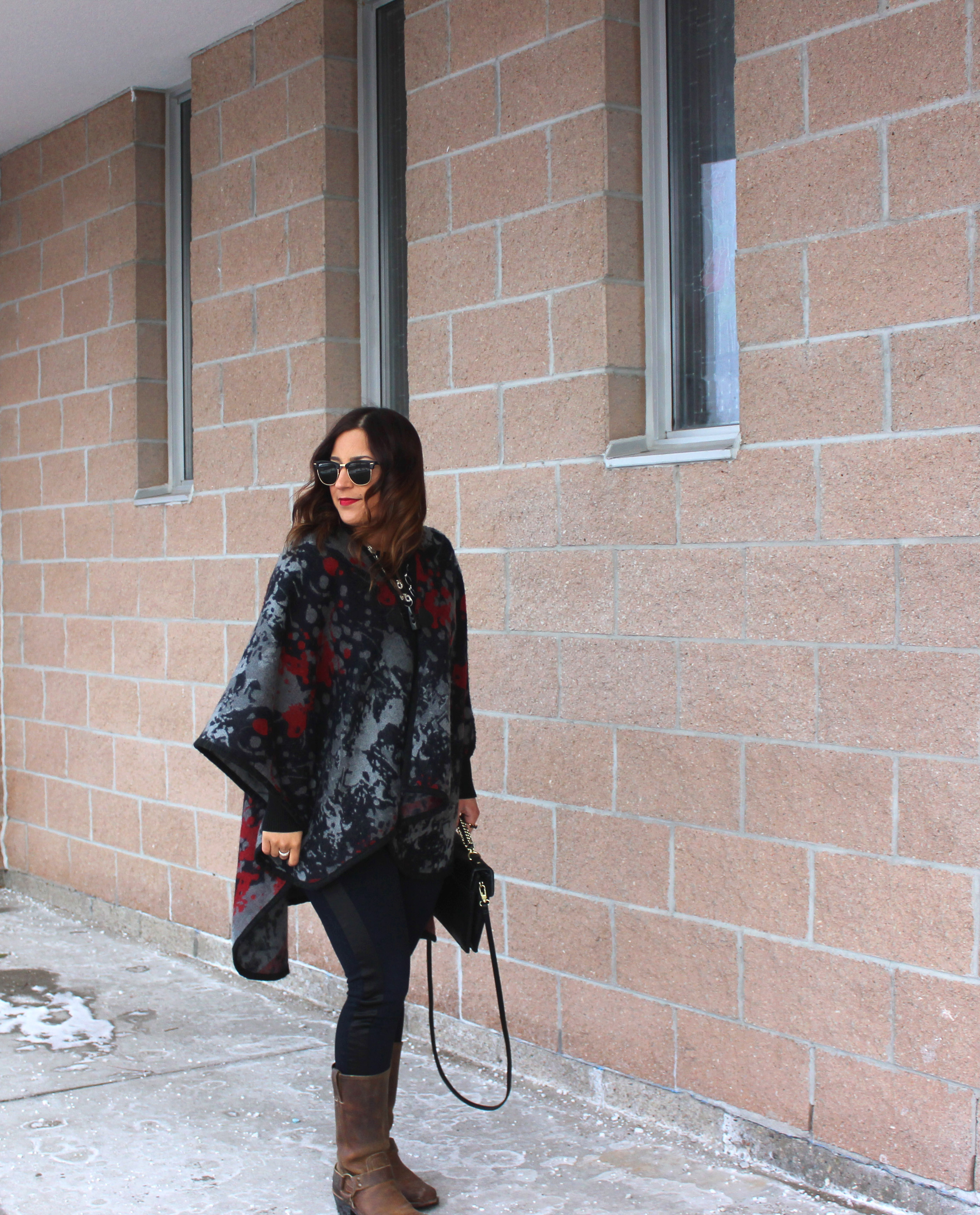 How to update your winter wardrobe with bold accessories, as seen on Toronto Style blogger