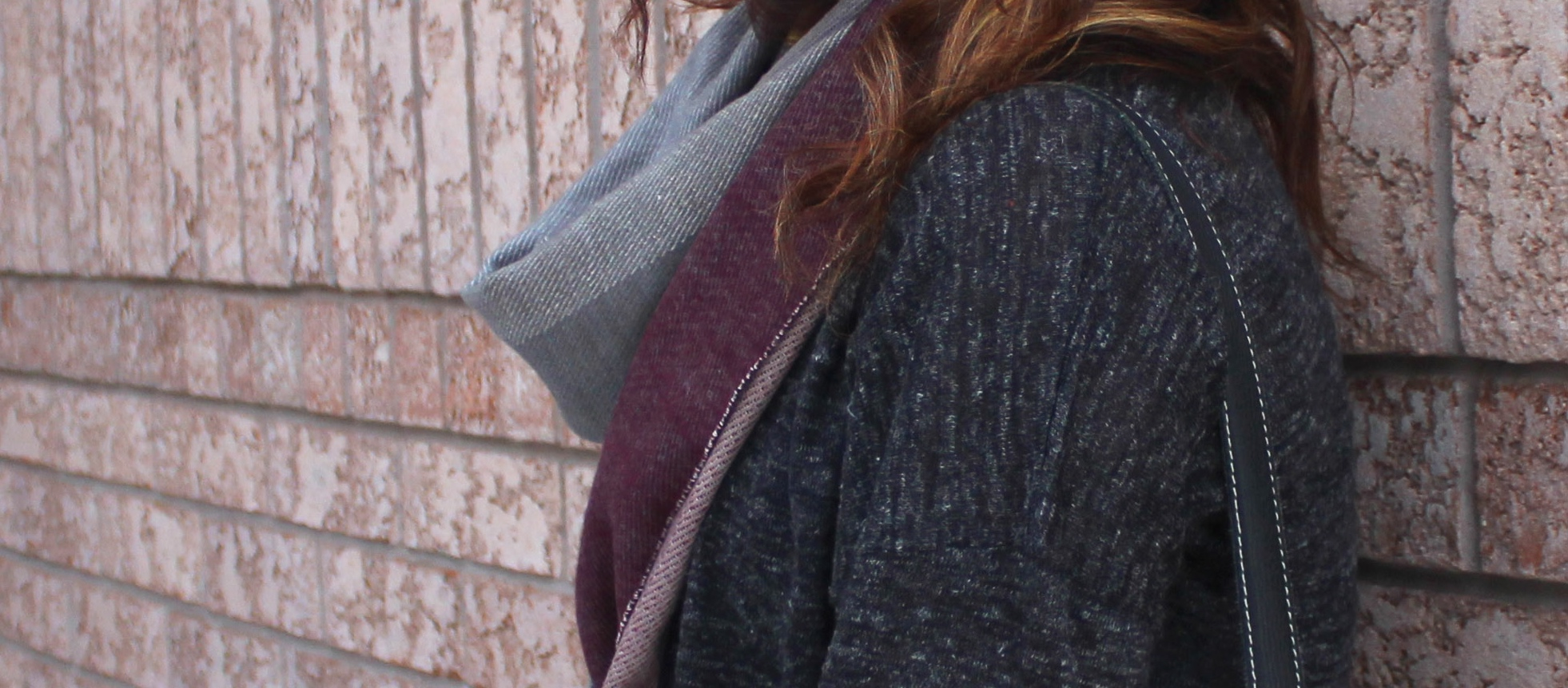 Effortless Winter Uniform - LOFT Cords, Cardigan, Cozy Scarf