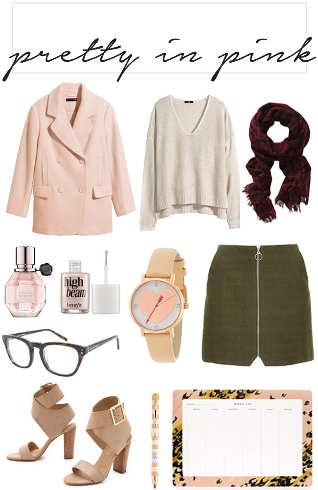 Pretty in Pink - How to wear blush pink / somethingaboutthat.com
