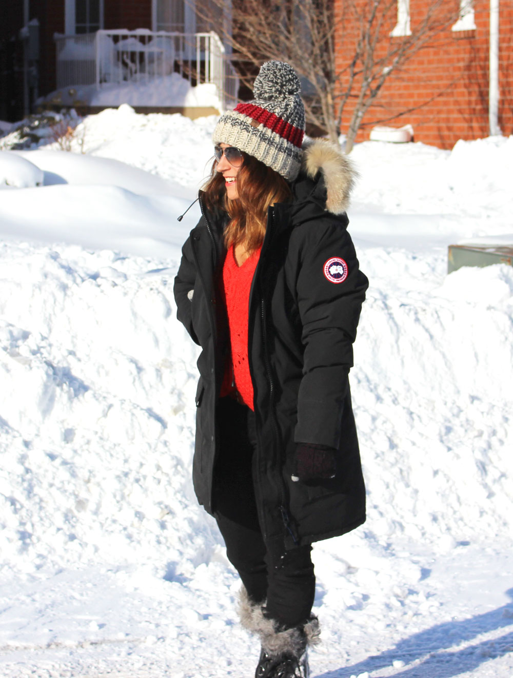 is canada goose actually warm