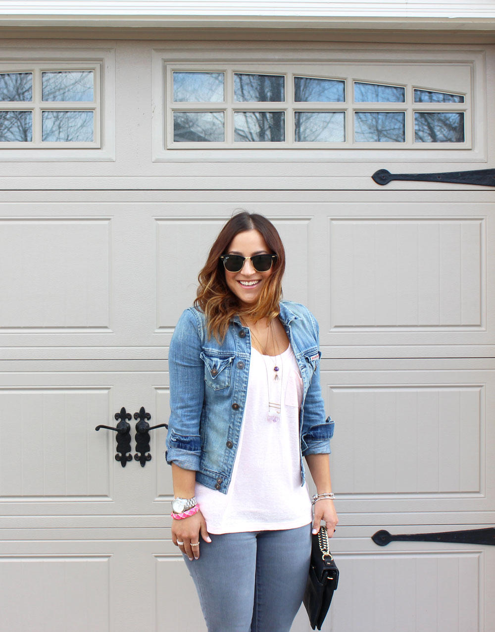Canadian fashion blogger, Jackie Goldhar, shows you how to modernize the Canadian Tuxedo