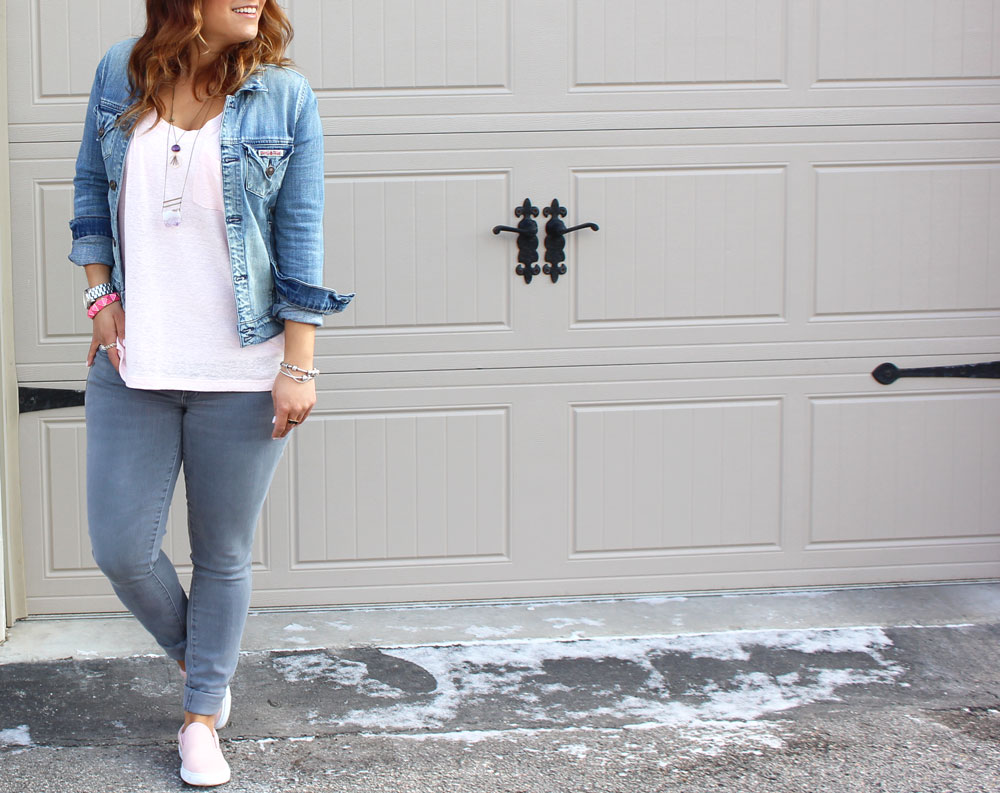 The Canadian tuxedo is the best outfit ever - see how toronto fashion blogger, Jackie Goldhar put a modern spin on the style