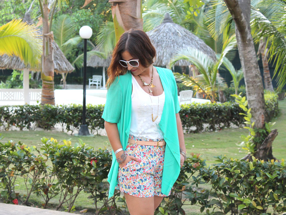 Spring break style in Punta Cana from Toronto Fashion Blogger, Jackie Goldhar