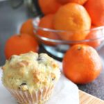 pinterest success: orange ricotta chocolate chip muffins