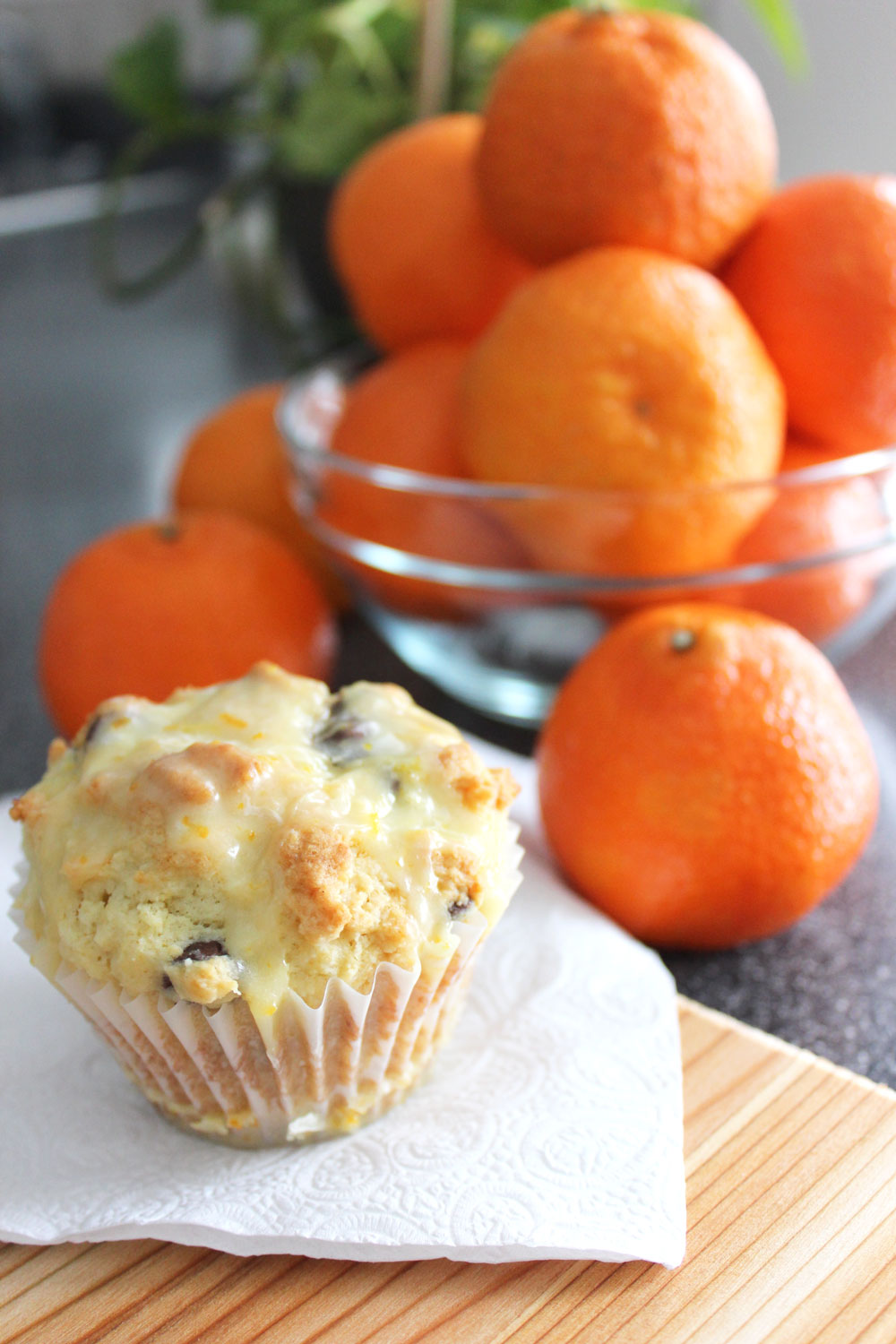 pinterest success: orange ricotta chocolate chip muffins ...