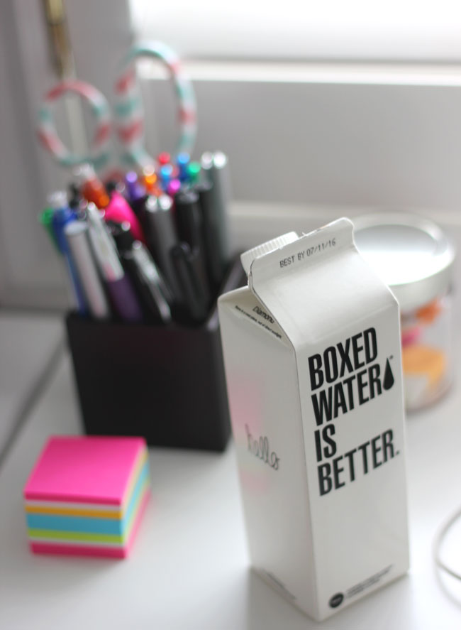 Boxed Water - Stay hydrated at work