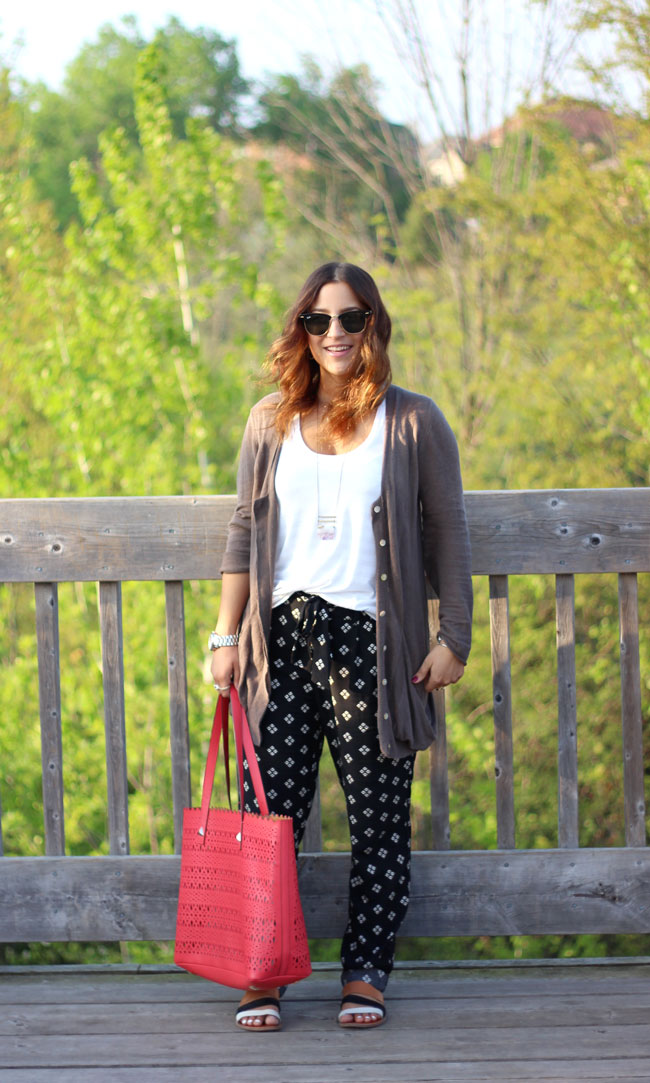 Trendy For Less - Soft, Slouchy Printed Pants from Old Navy