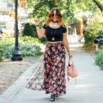 Crop Top and a Floral Maxi Skirt (with a story)