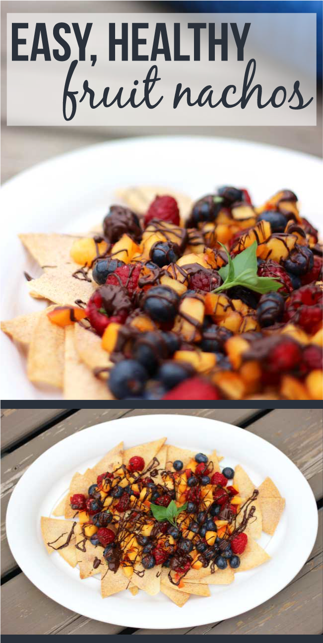 easy fruit nachos
