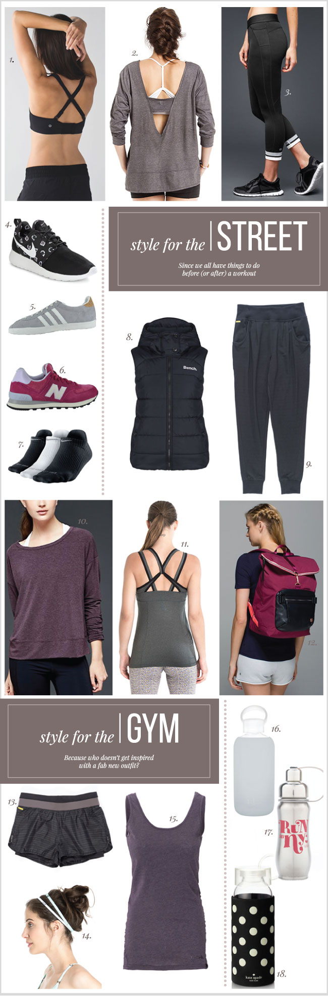 Gym and Workout Clothes You can Wear Out