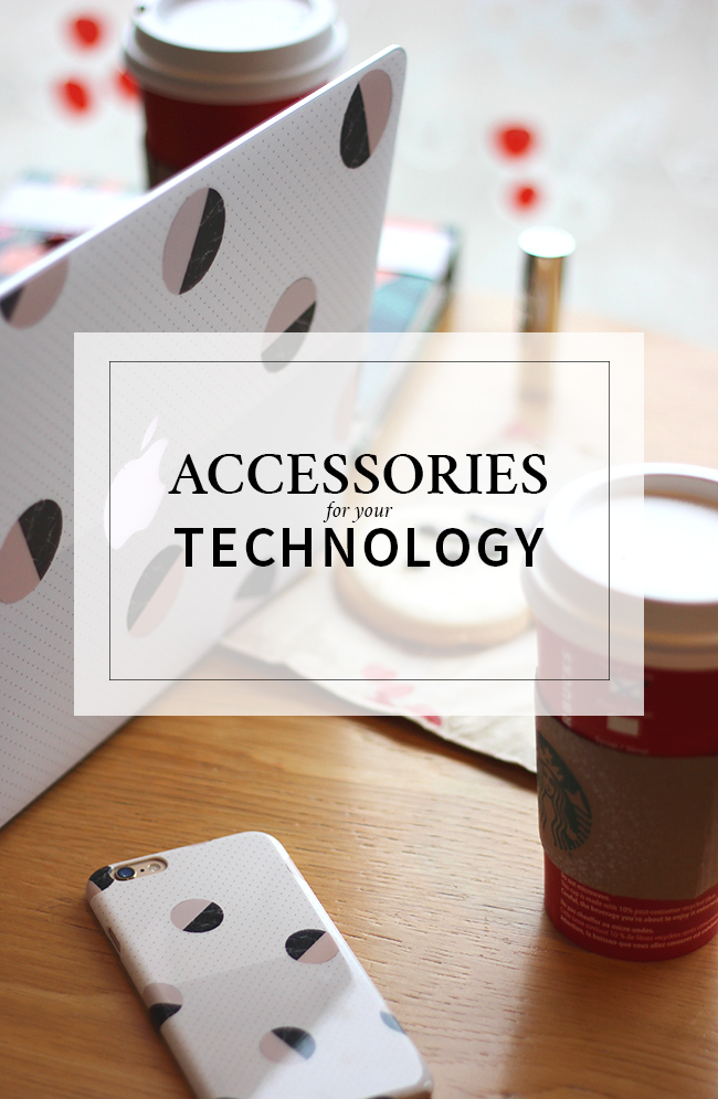 Accessories for your technology - phone case and laptop skin from casseapp