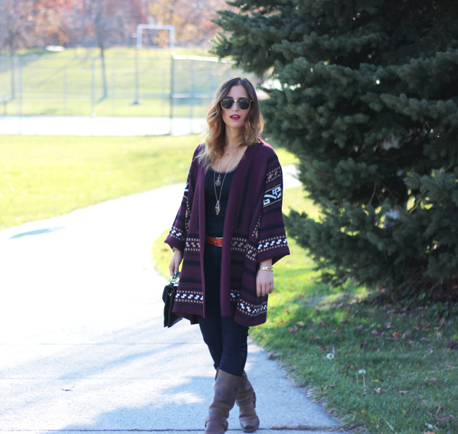 Fall outfit - Gentlefawn cardigan