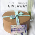 Pure+simple: Giveaway