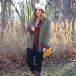 Plaid and a Toque