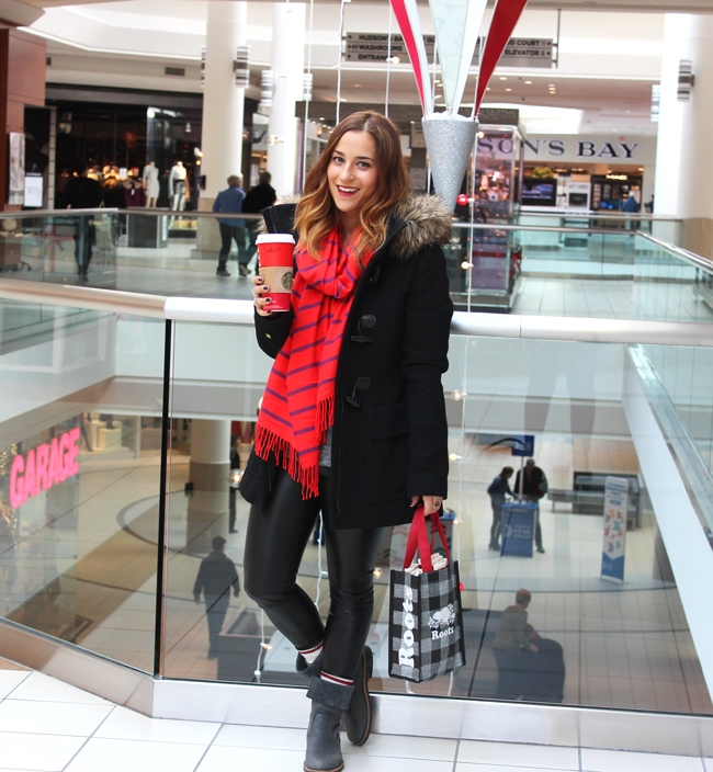 Holiday Shopping Upper Canada Mall - #IAmMrsClaus Holiday Campaign