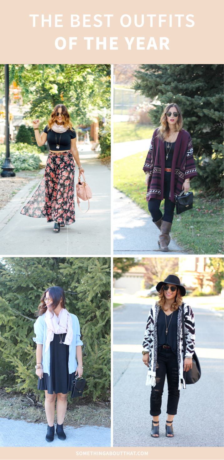 Best outfits of 2015 from Something About That - Toronto fashion blogger