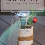 Easy DIY Gift: Ginger Chocolate Cookies