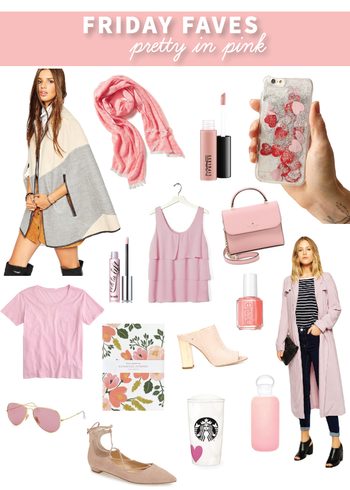 Friday Faves – Pretty in Pink