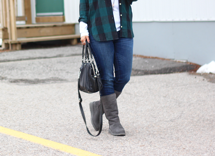 7a1c64ac8 Flannel and UGG Classic Slim Boots - Something About That