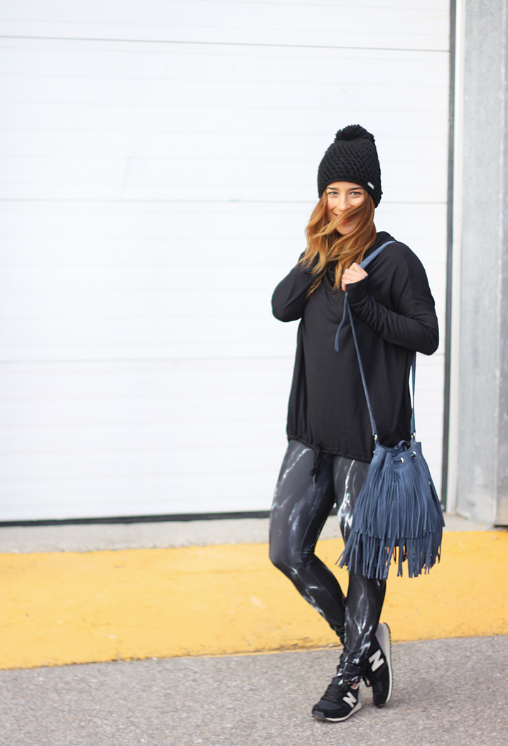 Brave Leather Fringe Bucket Bag