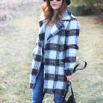 Plaid Coat and Jeans