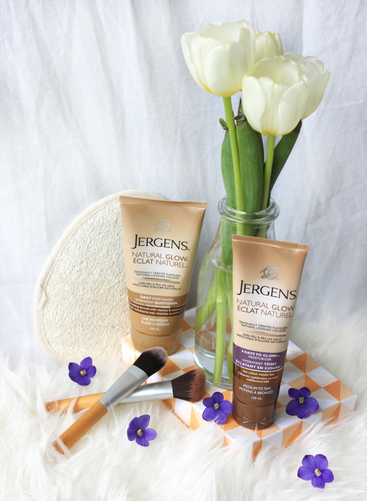 5 Steps to a Natural Glow without the sun - Jergens Natural Glow Review