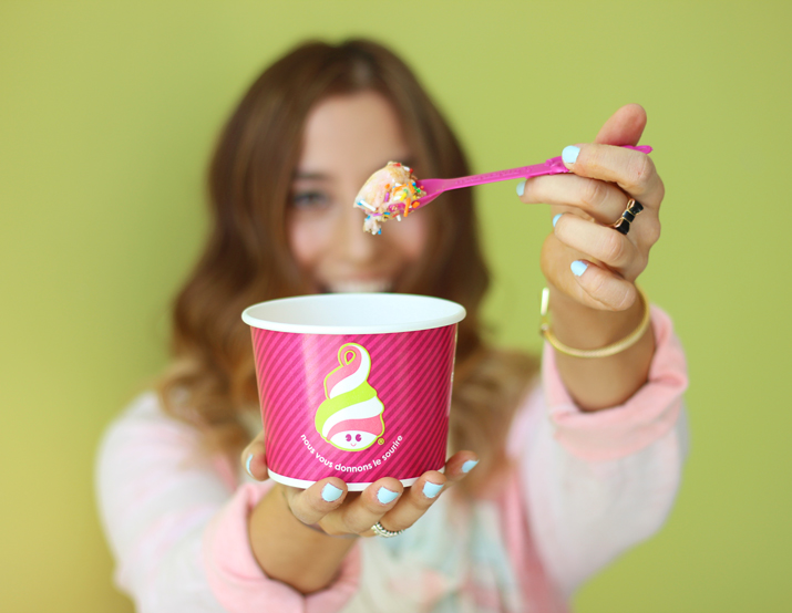 Menchie's Canada - Scratch, Win and Smile Contest
