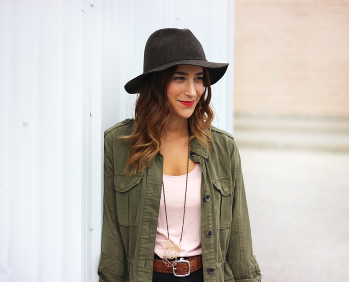 Topshop Cargo Jacket - Toronto Fashion Blogger