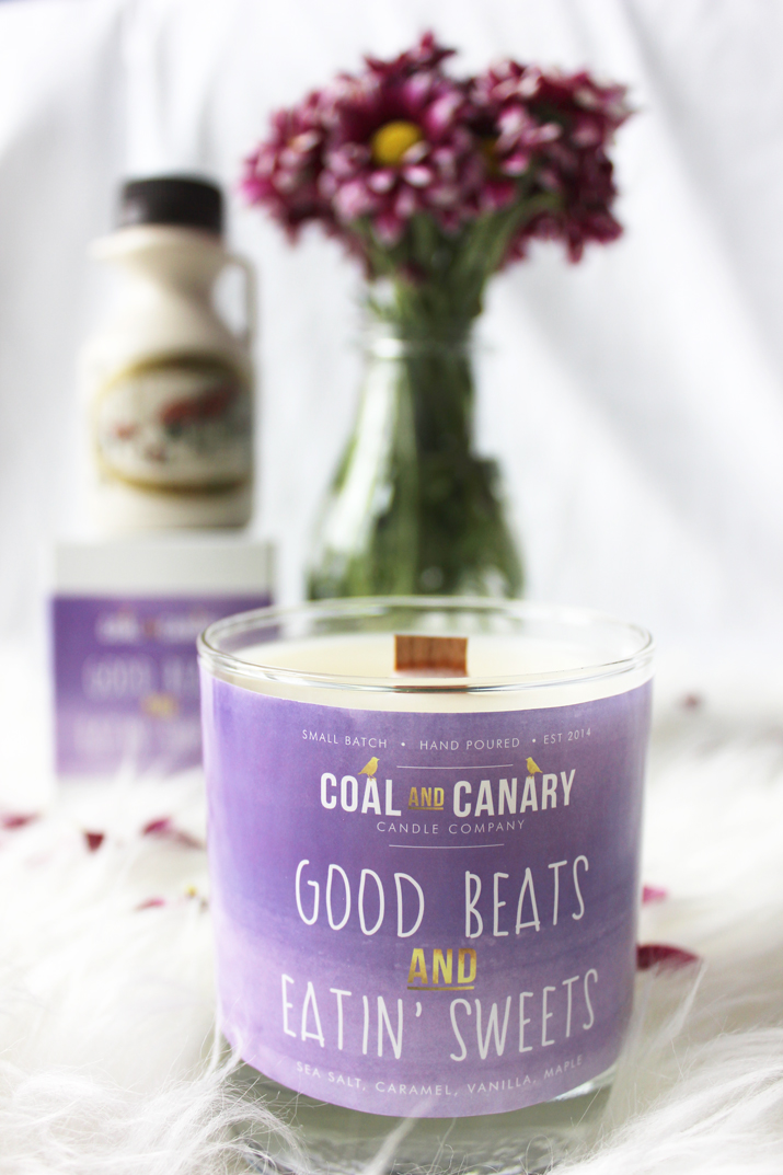 Small Batch, Hand Poured Candle from Coal and Canary
