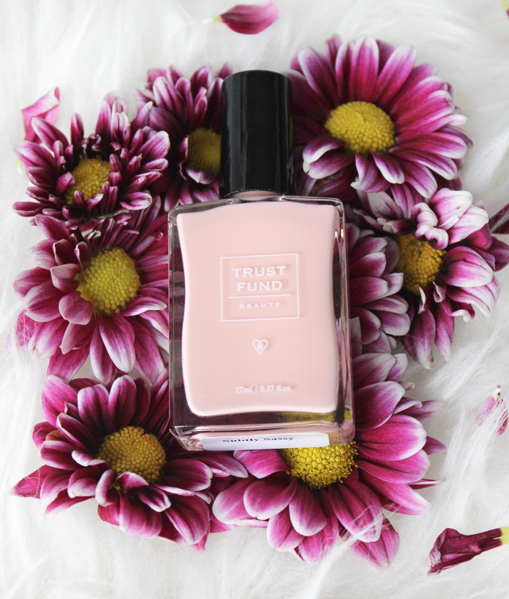 Trust Fund Beauty Nail Polish in Subtly Sassy Pink