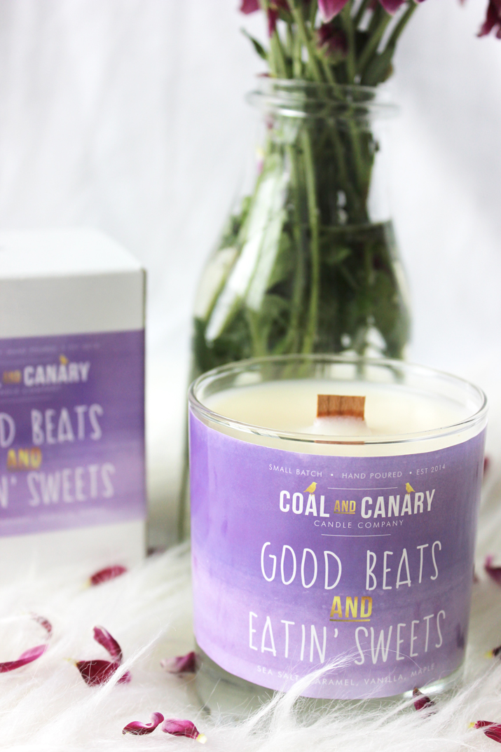 Coal and Canary Candle Company Small Batch Candle - via Blossom Lounge