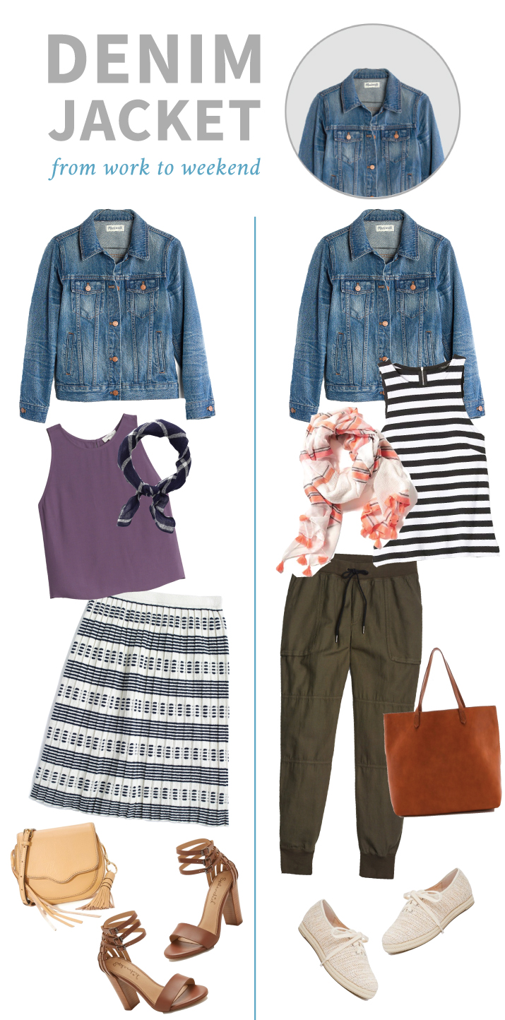 Denim Jacket – From Work to Weekend