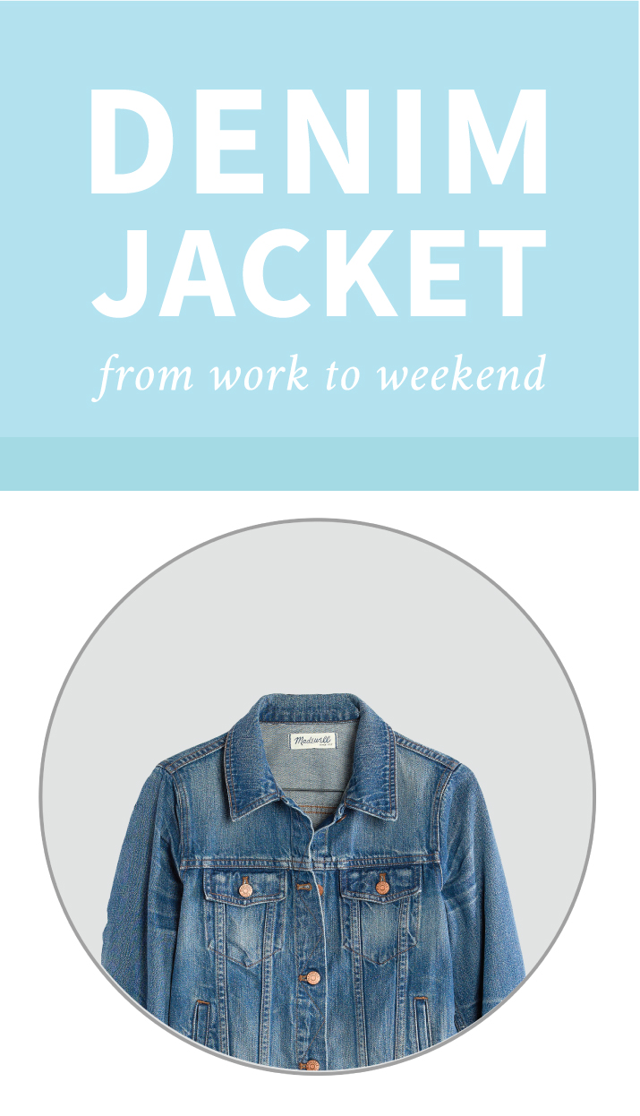 How to wear a denim jacket - Style Tips