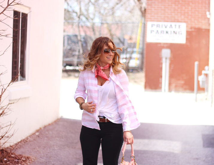 How to wear a bandana - Toronto Fashion Bloggers