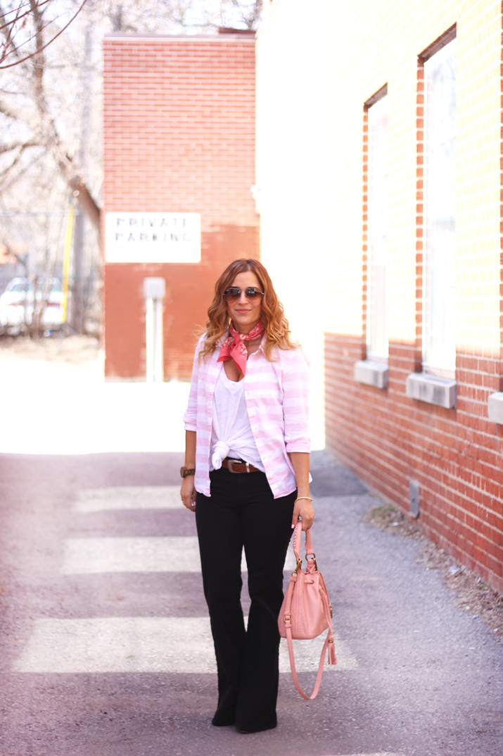 Flared Jeans from Gap - How to Wear Flared Jeans