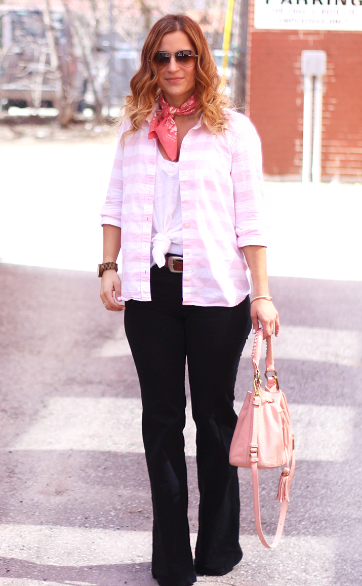 Toronto Fashion Blogger - How to wear Skinny Flare Jeans