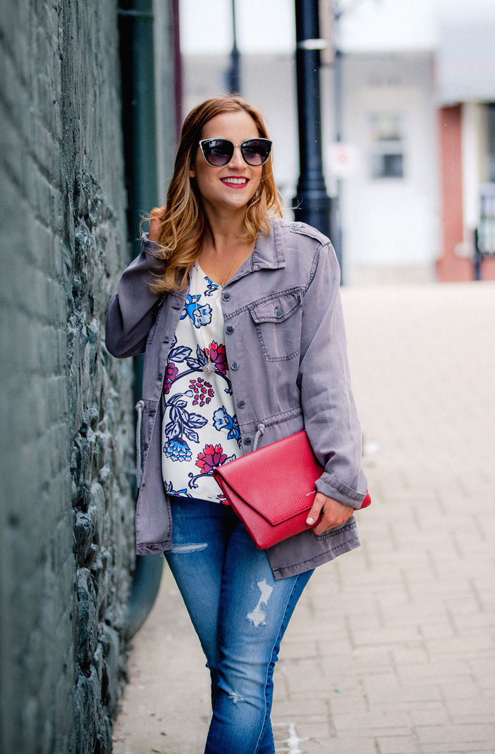 Toronto Fashion Blogger - Wearing an outfit from Lemonberry Boutique, in Aurora, ON