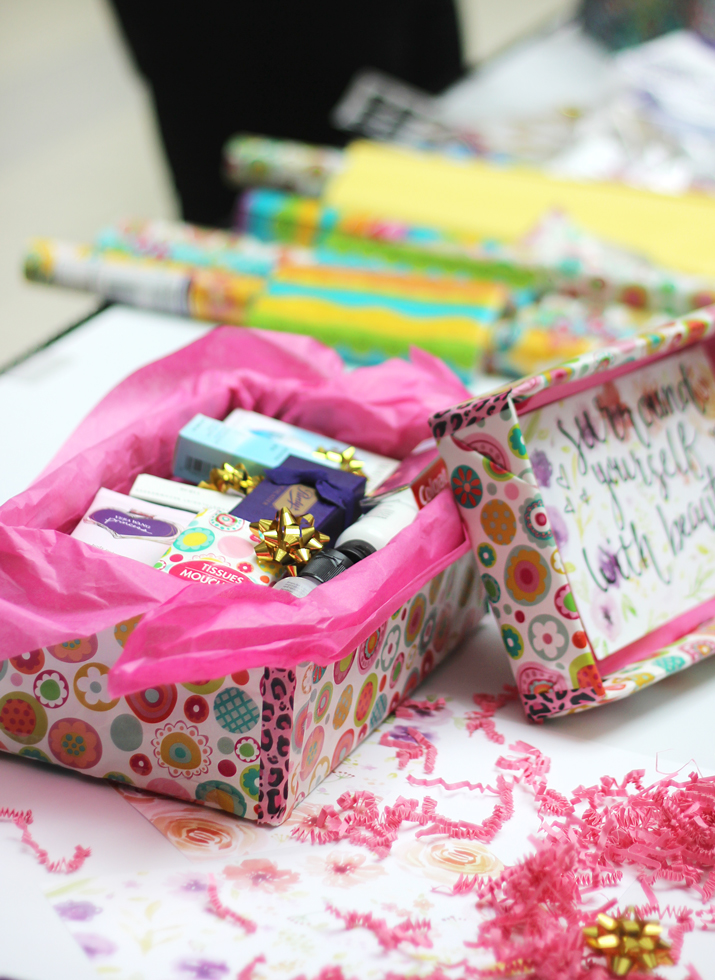 The Shoebox Project Event at Upper Canada Mall