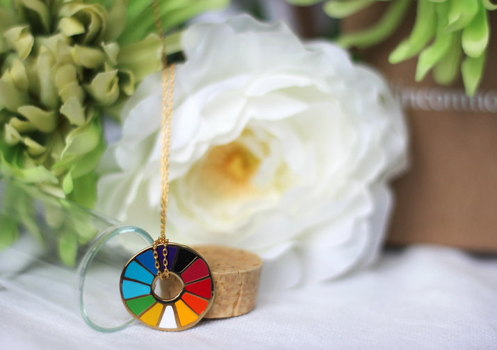 Color Wheel Pendant from Uncommon Goods Review