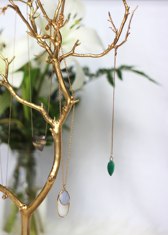 Handmade Jewelry Tree from Uncommon Goods - Perfect for Mother's Day