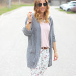 Floral Denim For Spring