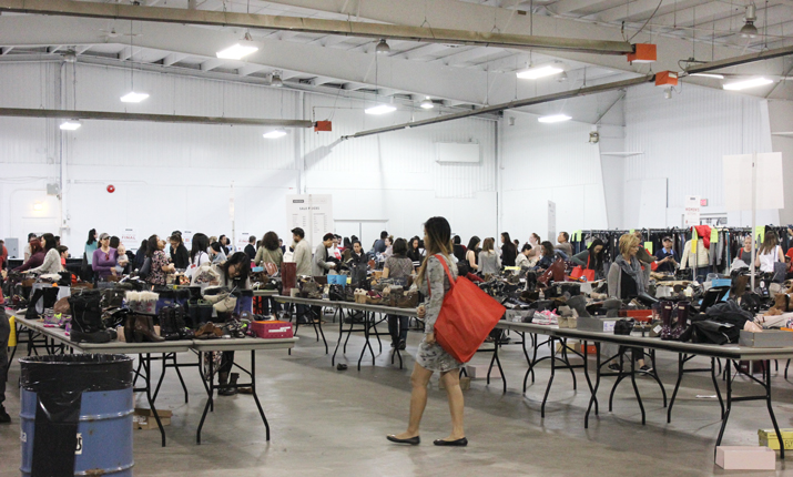 How to shop a warehouse sale