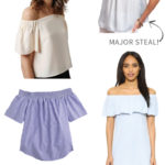 6 off the shoulder tops you need in your closet