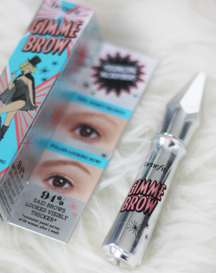 New Benefit Gimme Brow Volumizing Fiber Gel Review