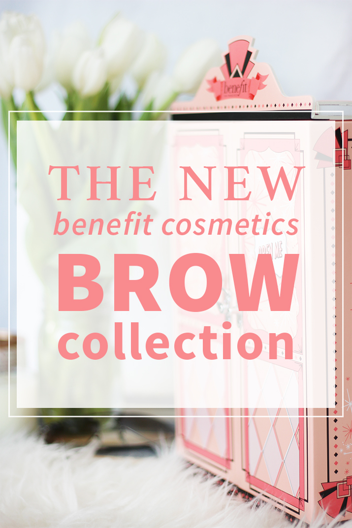 The New Benefit Cosmetics Brow Collection Review