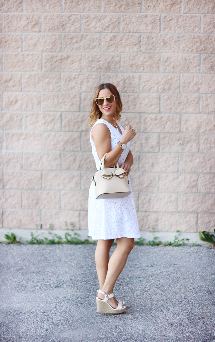 Toronto Fashion and Lifestyle Blogger, Jackie Goldhar, shared her Style Savings for Summer at Dixie Outlet Mall